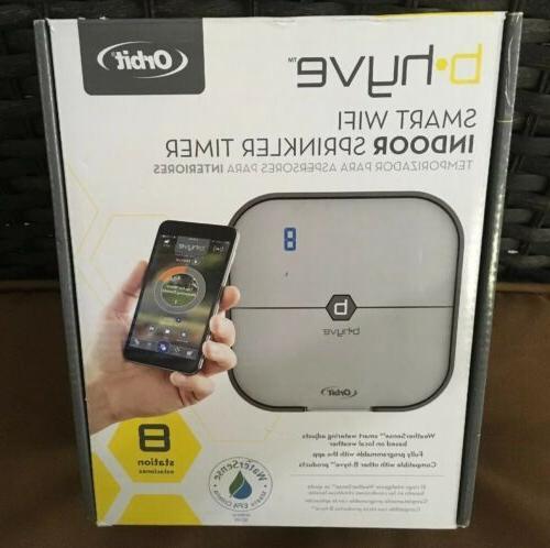 brand new b hyve 8 station smart