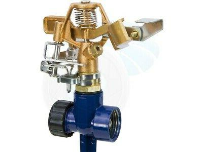 brass impact spray head sprinkler 0 360