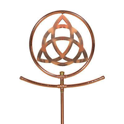 celtic knot copper decorative sprinkler watering spinning
