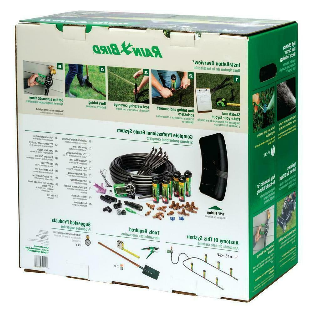 Easy to install automatic sprinkler rain lawn