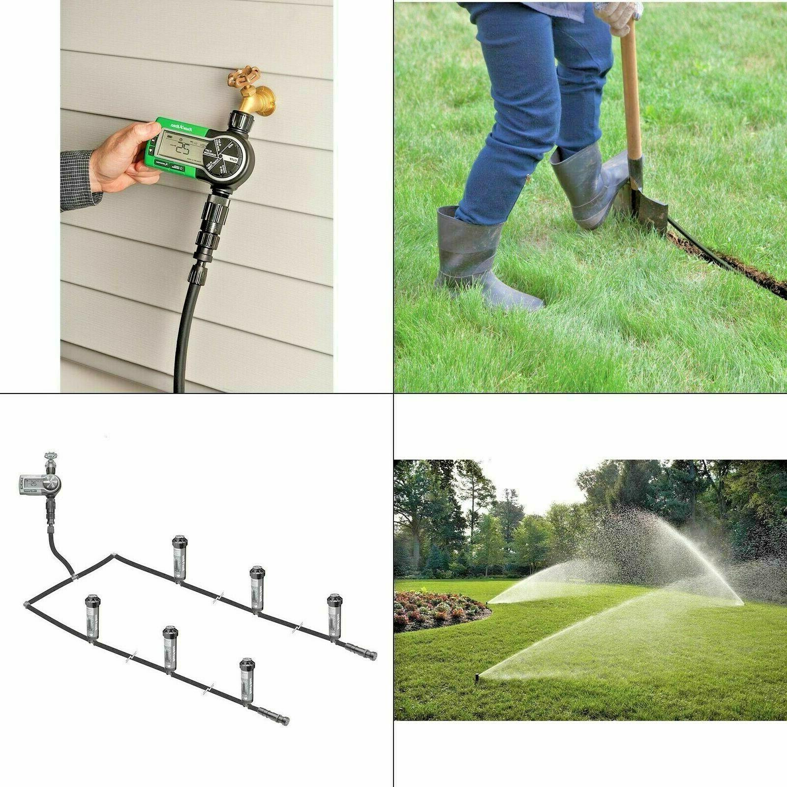 easy to install in ground automatic sprinkler