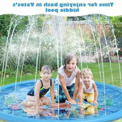 Extra Large Fun Sprinkler for Play Outdoor Inflatable Game