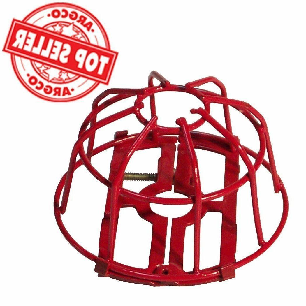 fire sprinkler head guard red easy screw