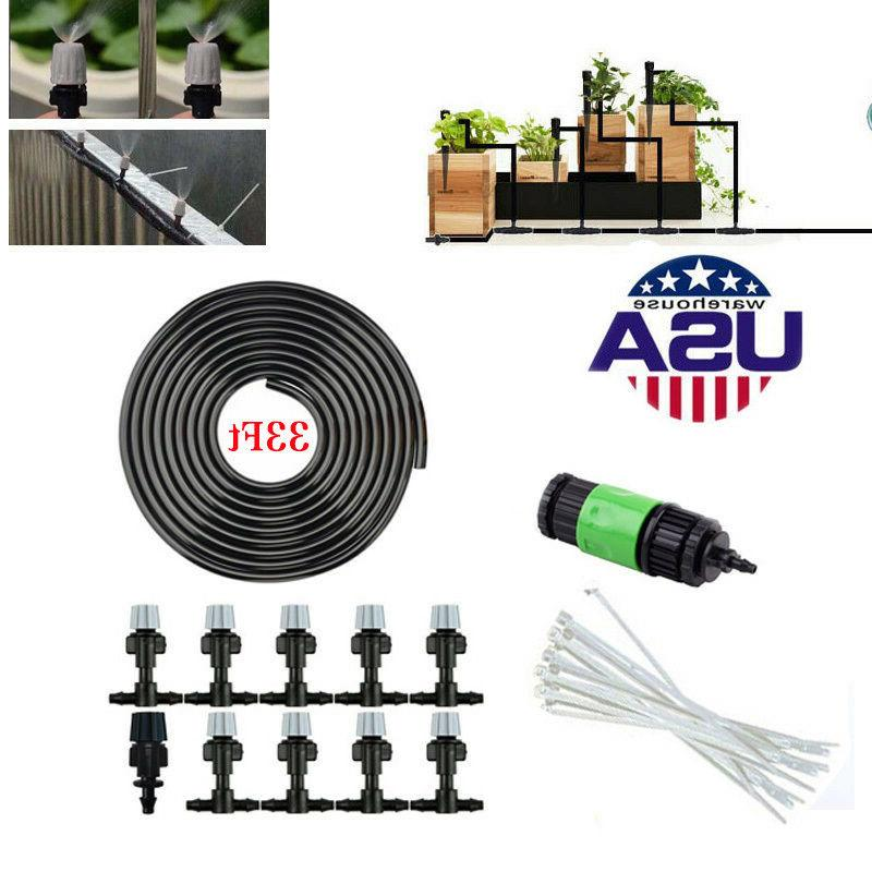 Garden Air Misting Cooling Irrigation System Sprinkler@