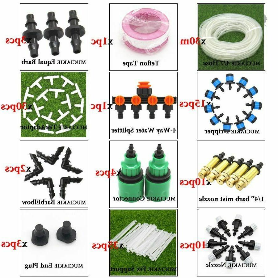 Garden Water System Hose Kit 1/4''