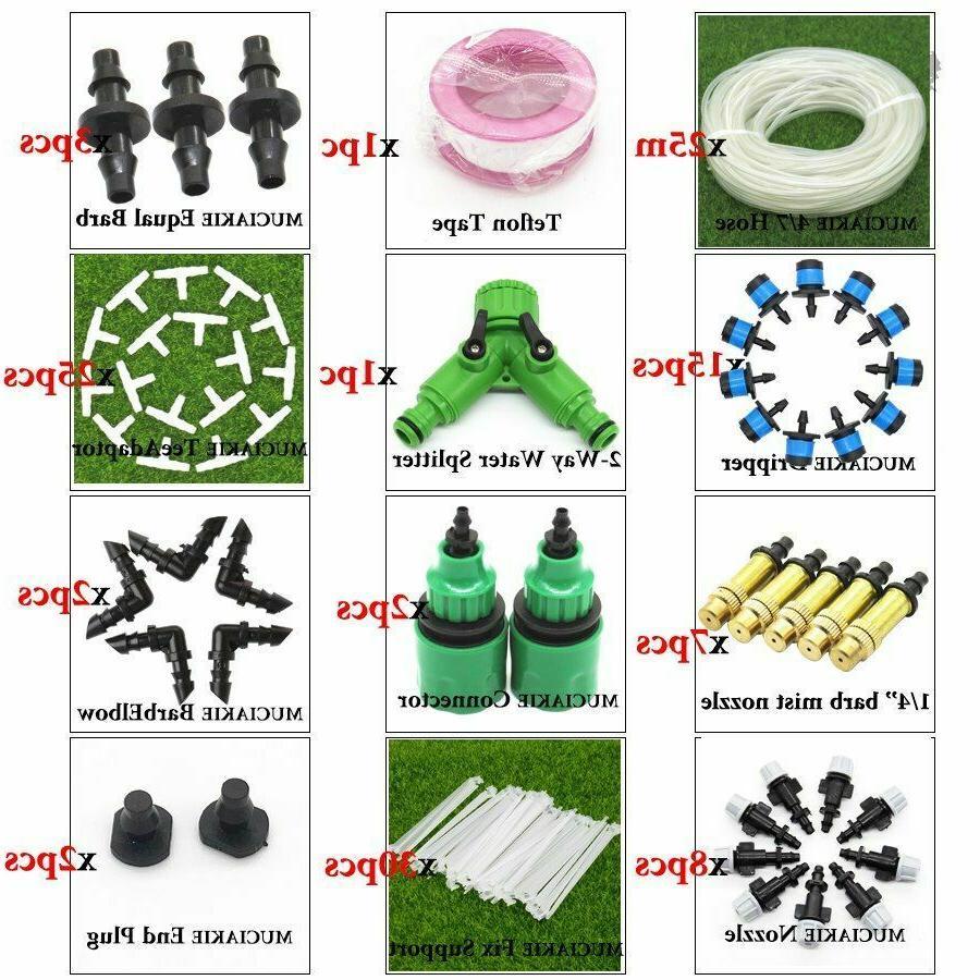 Garden Water Plant Irrigation System Dripper Line PVC