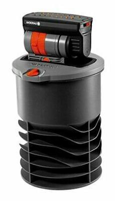 GARDENA OS 140 Pop up System Oscillating Sprinkler for Squar
