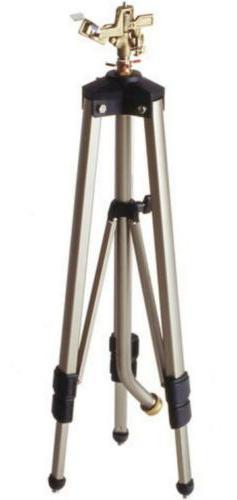 """Heavy Duty 50"""" Tall Impulse Lawn Sprinkler Long Distance Tel"""