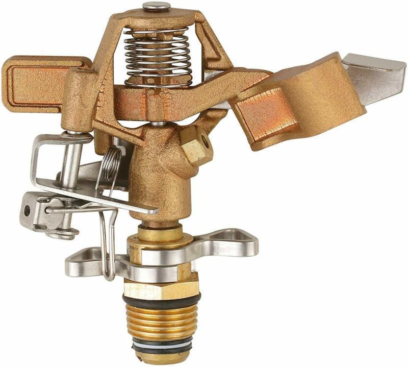 heavy duty brass impact head sprinkler