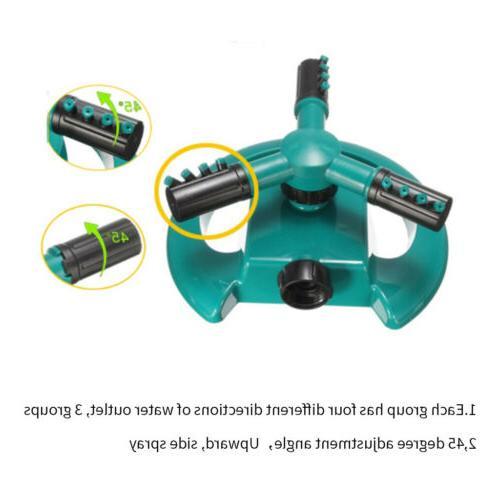 Hot Rotating Sprinkler Irrigation 3 Garden Pipe