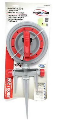 RAINWAVE Impulse Auto Select Watering Sprinkler on Step Spik