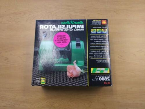 impulsilator double action sprinkler