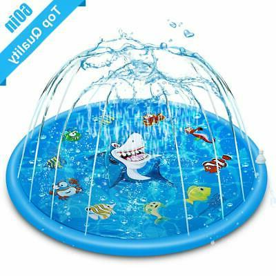 inflatable outdoor sprinkler summer fun water toys