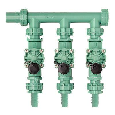 irrigation valve manifold system