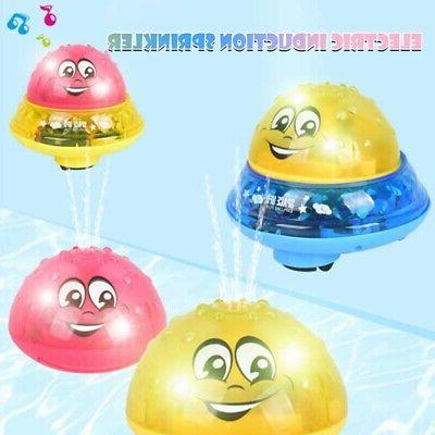 Toddler Baby Electric Induction Sprinkler Water Spray Toy Li