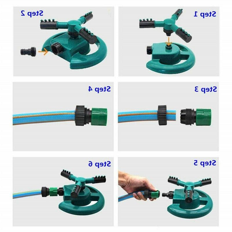 Lawn Garden Watering Sprinkling Water Kit