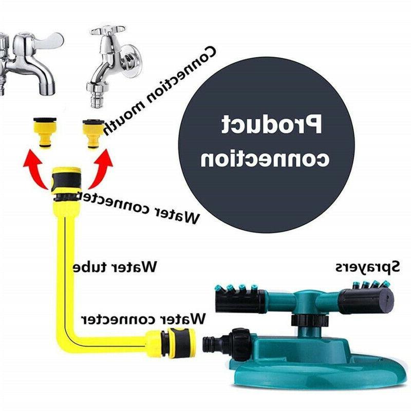 Lawn Garden Sprinklers Watering Water Kit US