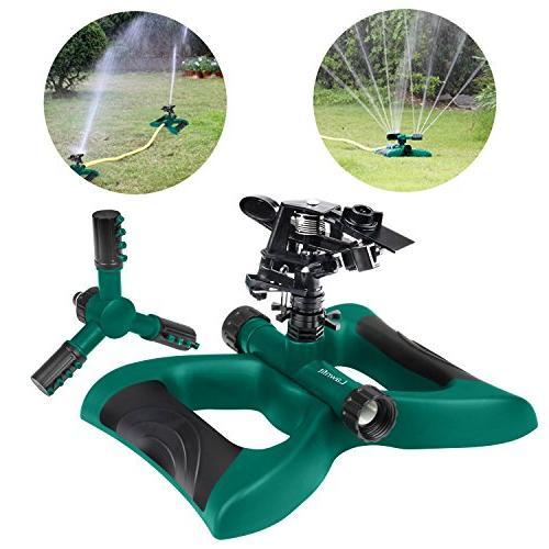 lawn impact rotating sprinkler