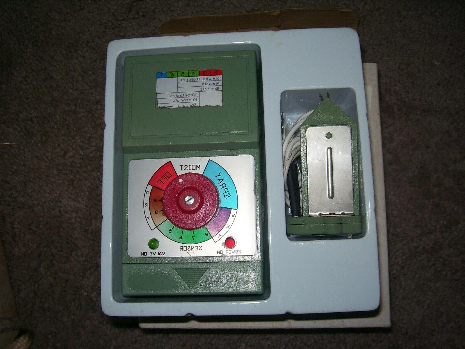 lawn moisture sprinkler valve controller