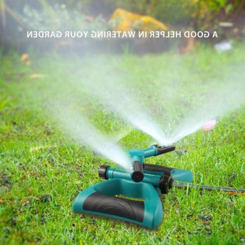 Lawn Sprinkler, Automatic 360 Rotating Adjustable Kids Sprin