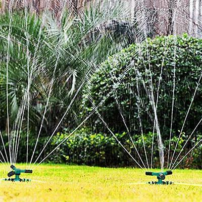 Blisstime Sprinkler, 360 Rotating Sprinklers Lawn