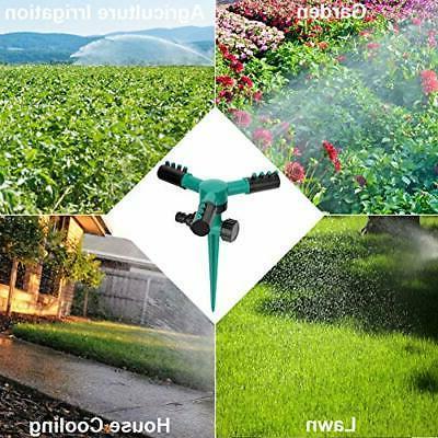 Blisstime Lawn Sprinkler, 360 Rotating Sprinklers