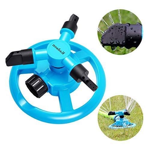 Kadaon Lawn Garden Sprinklers Lawn Irrigation 3600 Feet Rotation 360°
