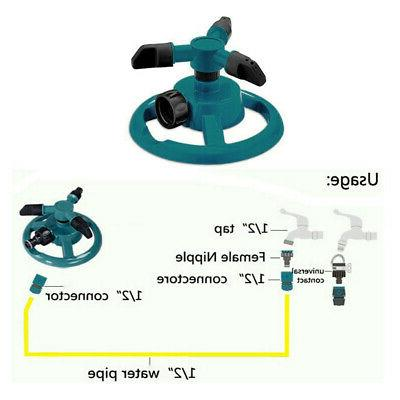 Lawn Automatic Water Irrigation 360°