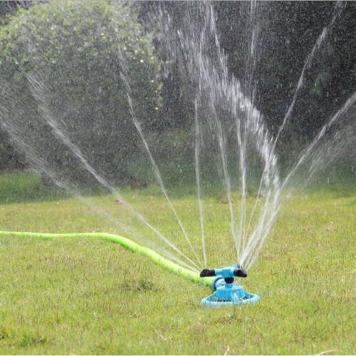 Lawn Sprinkler Water