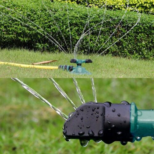 Lawn Automatic Water Sprinklers Lawn Irrigation Rotation 360°
