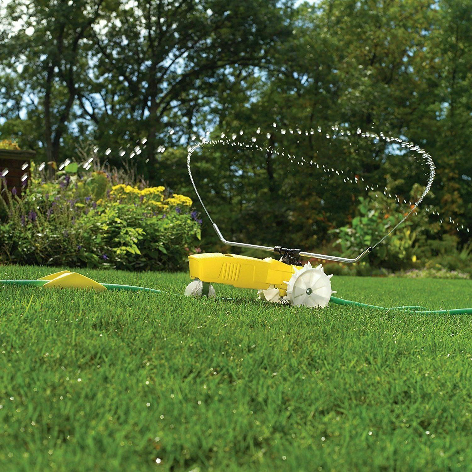 Lawn Sprinkler Rain Train Traveling Water Nelson 1865 Automa