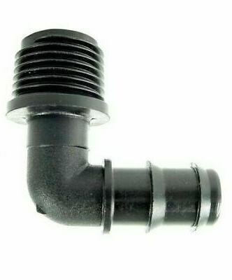 male threaded hose elbow for pop up