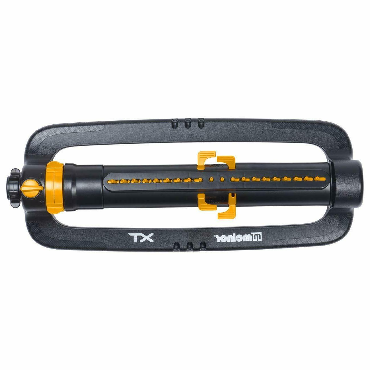 Melnor 65078-AMZ XT Turbo Oscillating Sprinkler 3-Way Adjustment
