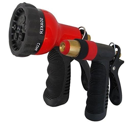 metal nozzle set pistol adjustable