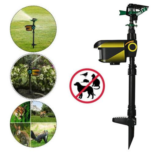 motion activated animal repeller garden