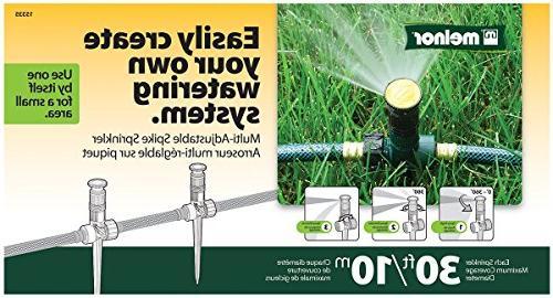 Melnor Sprinkler with Up Diameter, ,Direction Length