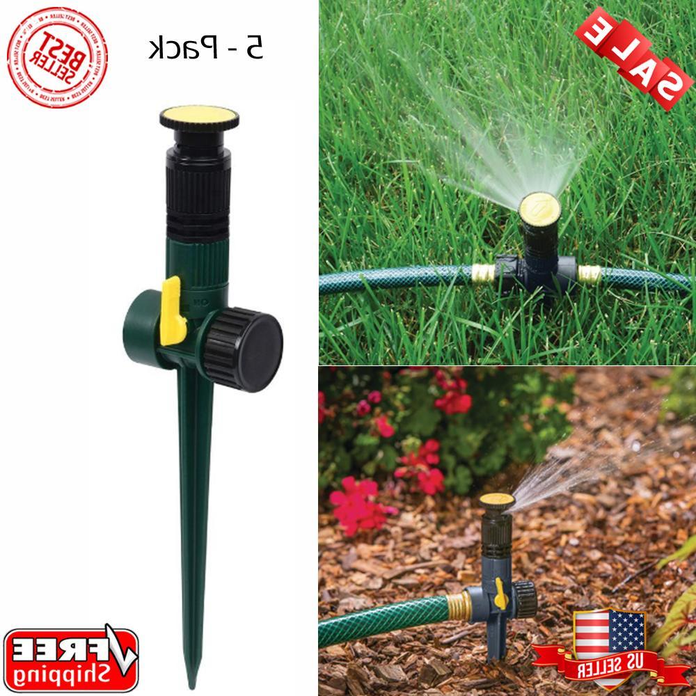 multi adjustable lawn sprinkler a