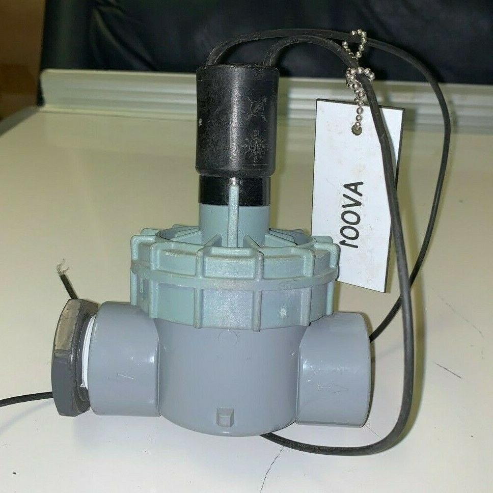 NEW! Irritrol In-Line Valve FPT 2400T Solenoid Valve Sprinklers
