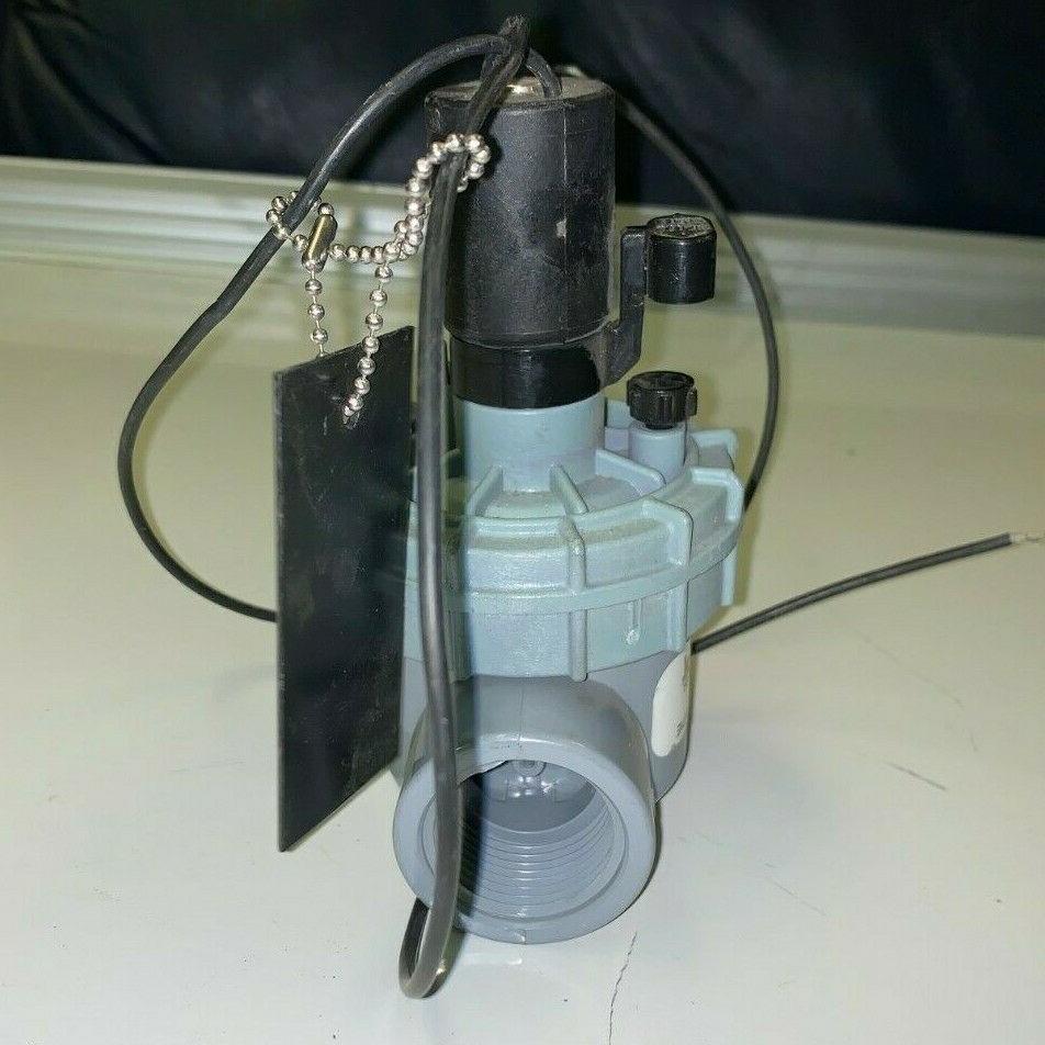 """NEW! Valve 1""""   2400T Solenoid Sprinklers"""
