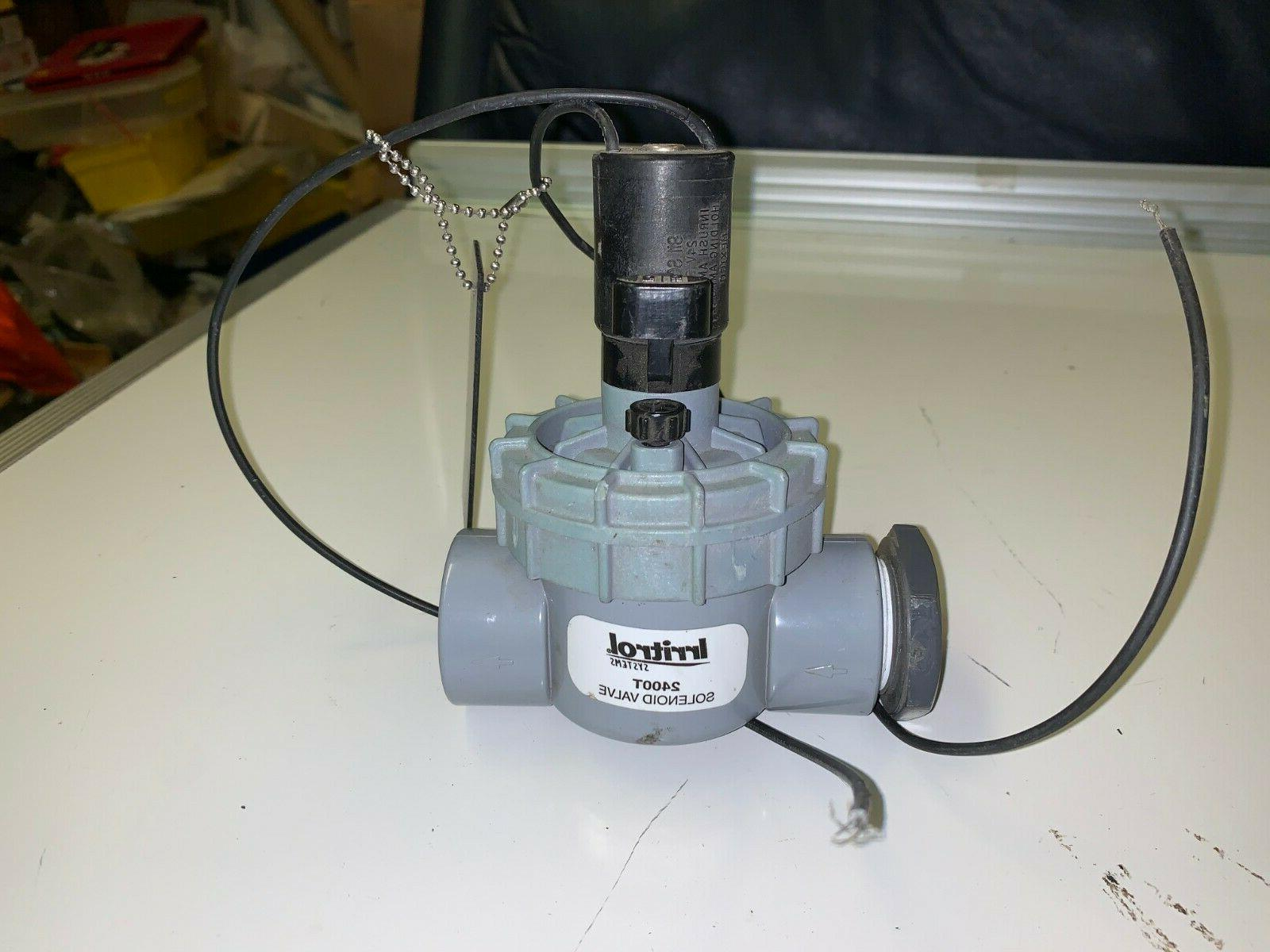 new 2400 in line valve 1 fpt