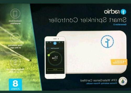 new 8 zone 2nd generation smart sprinkler
