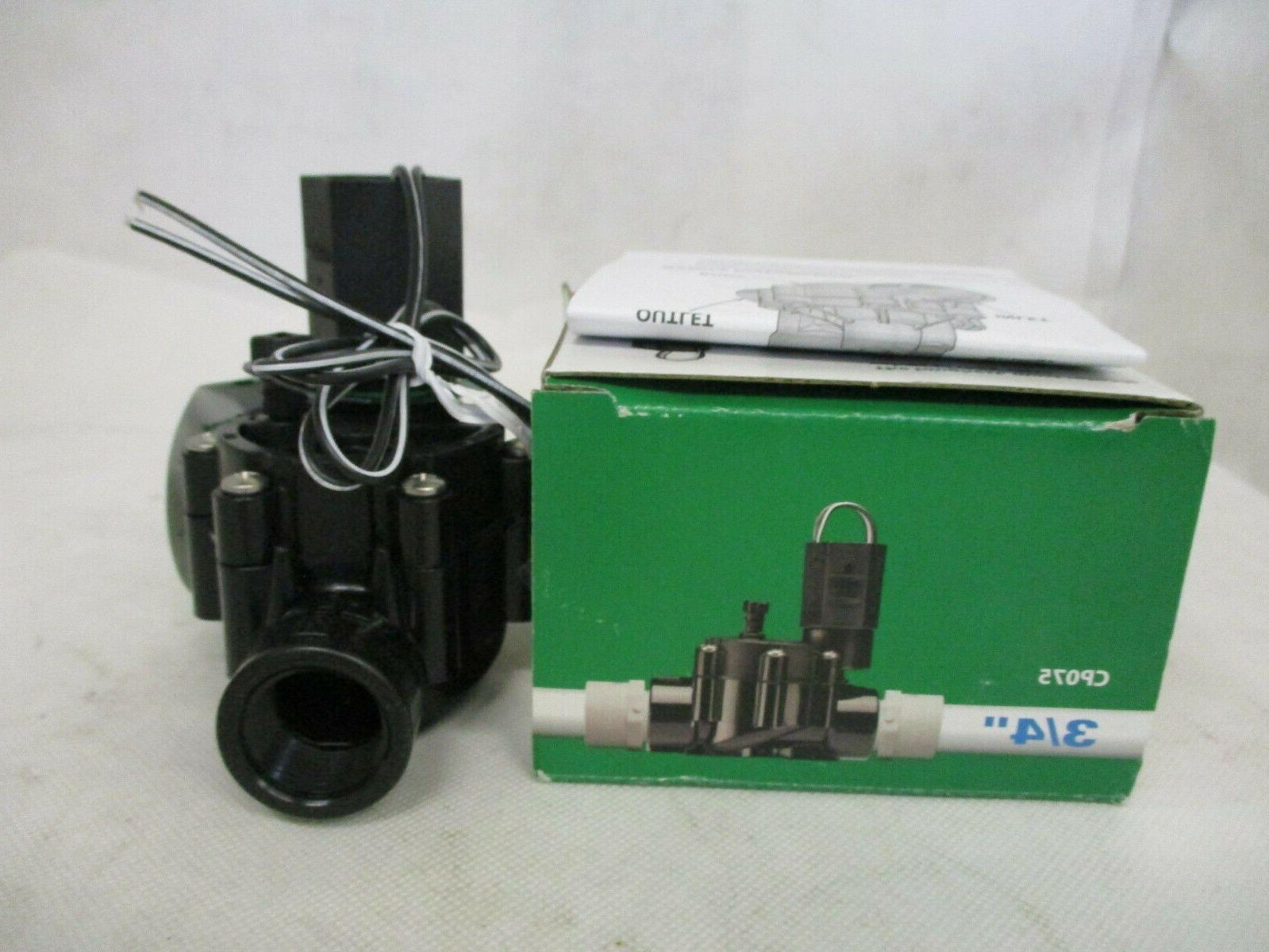 new cp075 in line automatic sprinkler valve