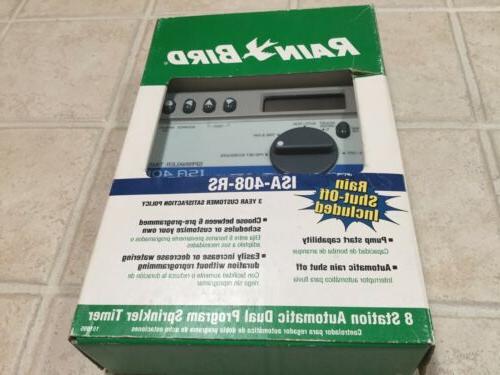 new sprinkler controller timer isa 408