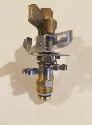 Nos Western Brass Sprinkler Full/Part Circle