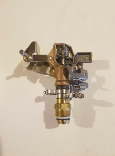 nos brass impact sprinkler adjustable full part
