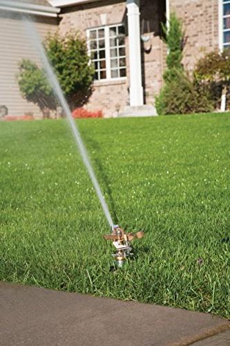 Rainbird 25PJLSP Brass Impact Sprinkler On End