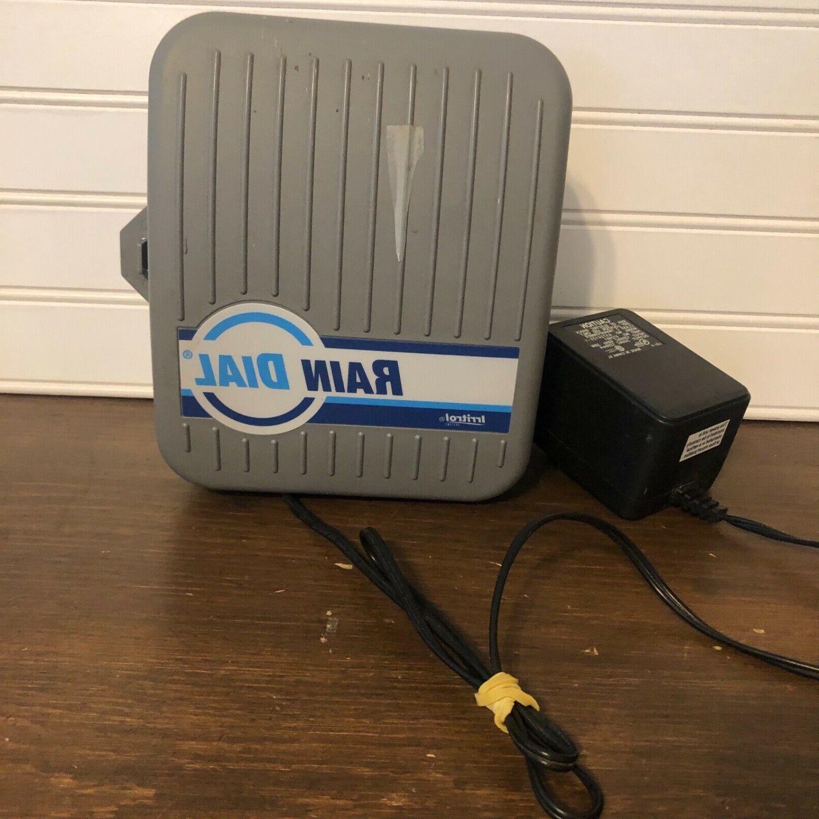 rd600 rain dial sprinkler controller preowned condition