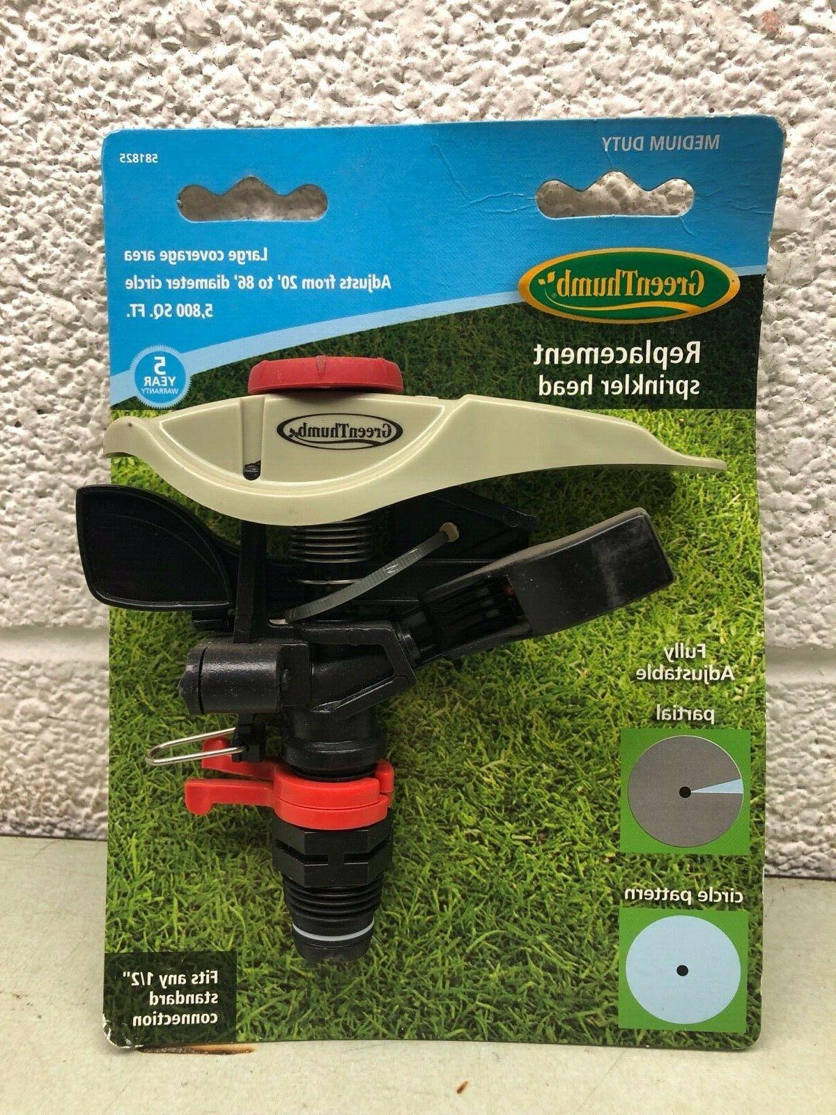 replacement sprinkler head large adjustable medium duty