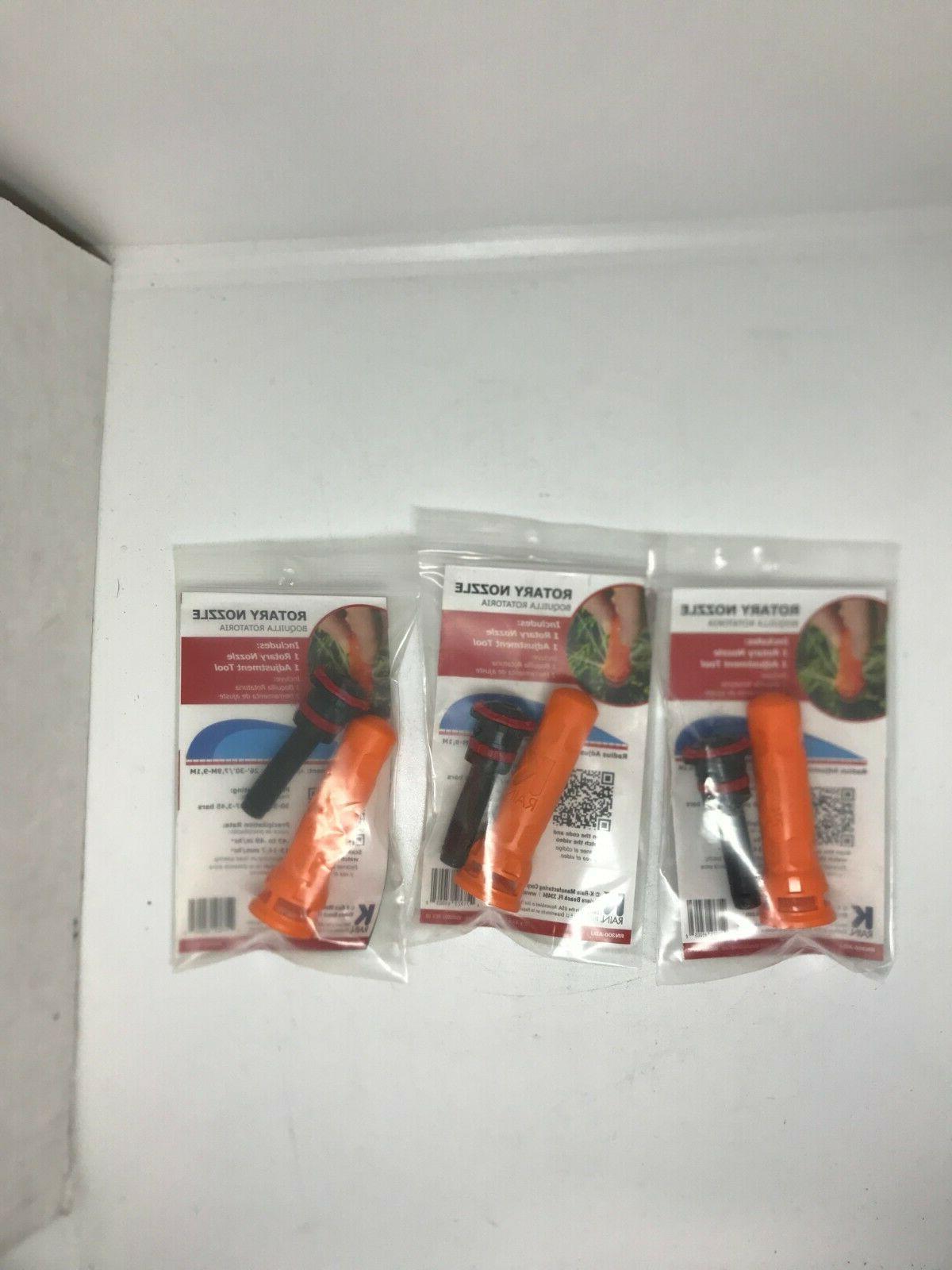 rotary nozzle sprinklers 3bx rn300 adj