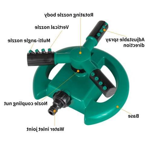 Rotating Degree Garden Lawn System Hose